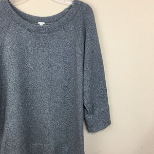 J. Crew Sun-drenched Sweatshirt Terry Cotton Knit